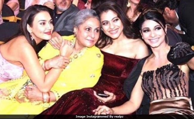 ICYMI: Preity Zinta, Jaya Bachchan, Kajol And Tanishaa In 'One Of The Highlights' Of Filmfare Awards. 'Ting'