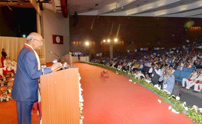 Abdul Kalam Was A Space Scientist, PM Modi A Social Scientist: President