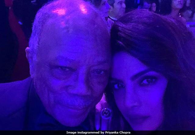 Grammys 2018: Priyanka Chopra And Quincy Jones Rule Pre-Bash