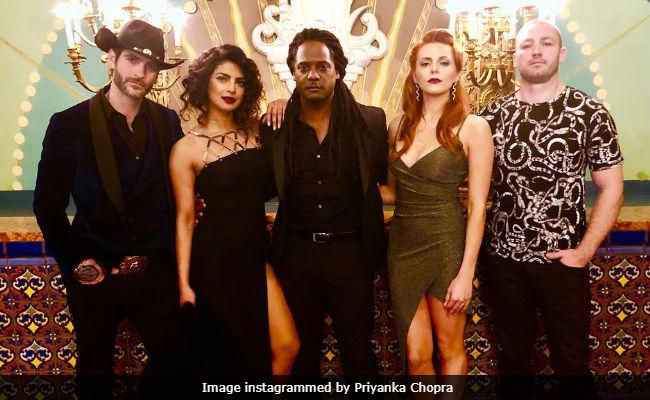 Priyanka Chopra And Quantico Team Take A Casino Detour. See Pics