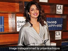 Priyanka Chopra's Glam Pyjamas, For When You Don't Want To Get Out Of Bed But Have To