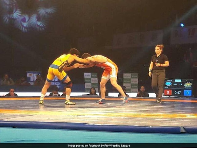 Pro Wrestling League: Haryana Hammers Outplay Veer Marathas 5-2
