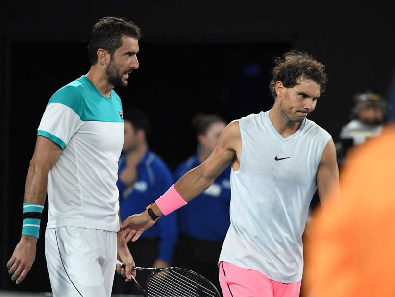 Australian Open 2018: Rafael Nadal Retires With Leg Injury, Marin Cilic Through To Semis