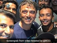 Watch: How India U-19 Team Celebrated Rahul Dravid's Birthday