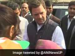 Rahul Gandhi Forced To Change Route For Amethi Rally Amid Protests By BJP