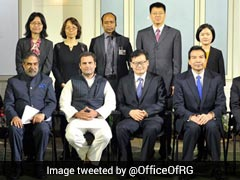 Rahul Gandhi Meets Delegation Of Communist Party of China