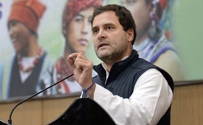 RSS Doesn't Have Women In Leadership Positions, Says Rahul Gandhi In Shillong