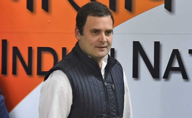 Rahul Gandhi's UP visit marred by protests, route changed