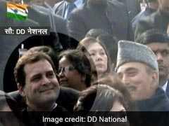 देश भर में गणतंत्र दिवस की धूम, राहुल गांधी को छठी पंक्ति में बैठाने पर कांग्रेस नाराज, दिन भर की 5 बड़ी खबरें