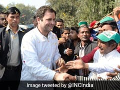 Rahul Gandhi UP Visit Highlights: Congress Chief Addresses Rally In Raebareli En Route Amethi