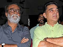 """Let Us See"": Rajinikanth Keeps Hopes Alive Of Alliance With Kamal Haasan"