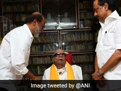 Am Energised, Says Politician Rajinikanth After Meeting Karunanidhi