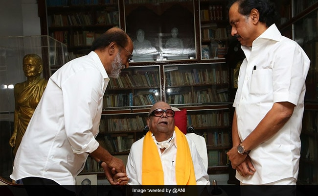 MK Stalin Targets Rajinikant's Spiritual Plank