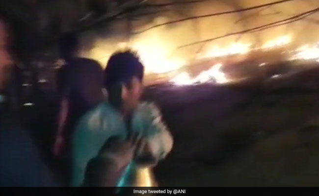 3 Dead In Massive Fire At Gujarat Camp Organised By Spiritual Leader
