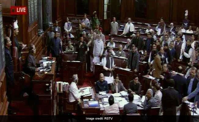 Congress Protests After TDP Calls Division Of Andhra 'Hasty, Unjust' In Parliament