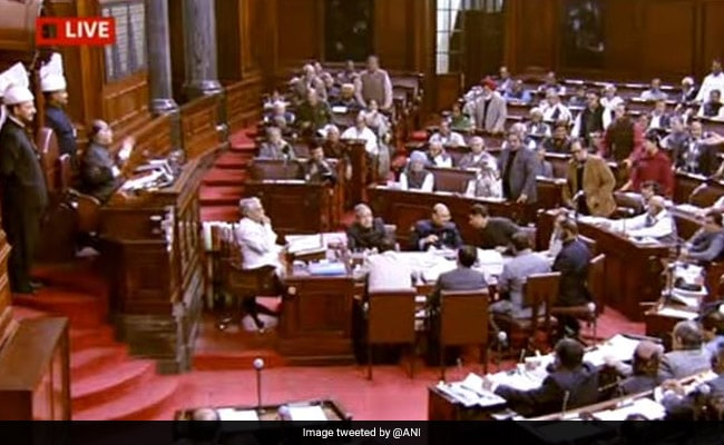 Rajya Sabha Adjourned Till 2 PM Following Opposition Uproar Over Many Issues