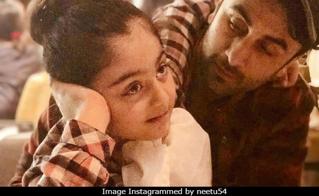 When Ranbir Kapoor And 6-Year-Old Niece Samara Are Together, Things Get Cute