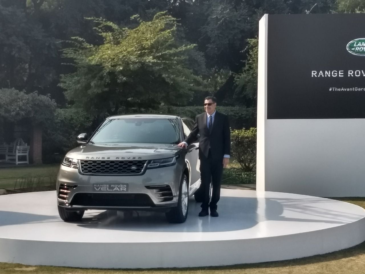 The newly launched Range Rover Velar sits between the Evoque and the Range Rover Sport