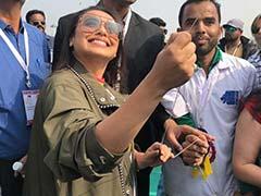 <I>Hichki</i>: Rani Mukerji Kick-Starts Promotions By Flying Kites
