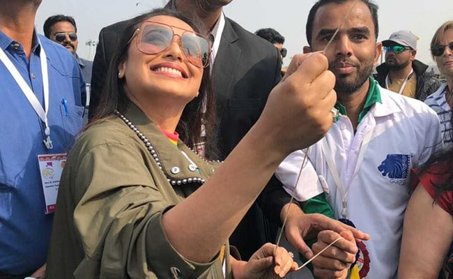 Hichki: Rani Mukerji Kick-Starts Promotions By Flying Kites