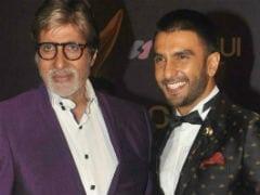 """<i>Padmaavat</i>"" Star Ranveer Singh Got His 'Award' - A Note From Idol Amitabh Bachchan"
