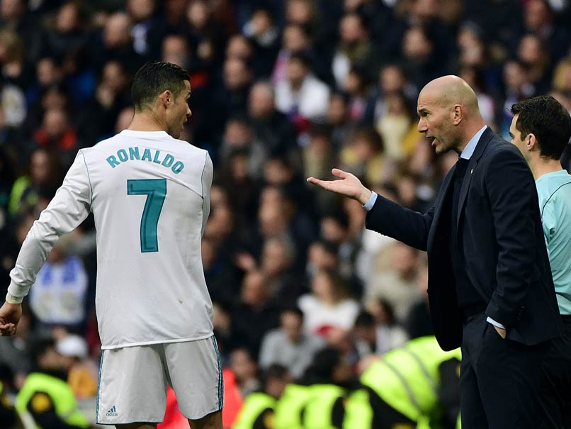 Real Madrid Without Cristiano Ronaldo Is Unimaginable, Says Coach Zinedine Zidane
