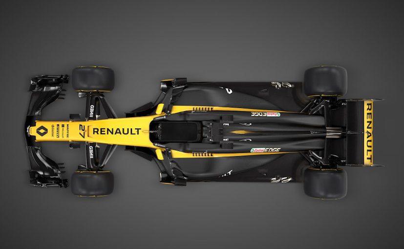 renault rs17 f1 car