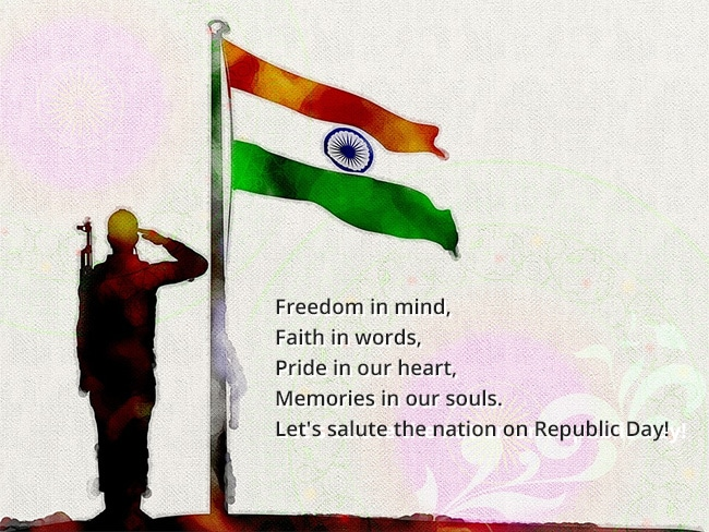 Republic Day Images With Quotes: Republic Day 2018: Images, Wishes, Quotes, Messages, GIFs