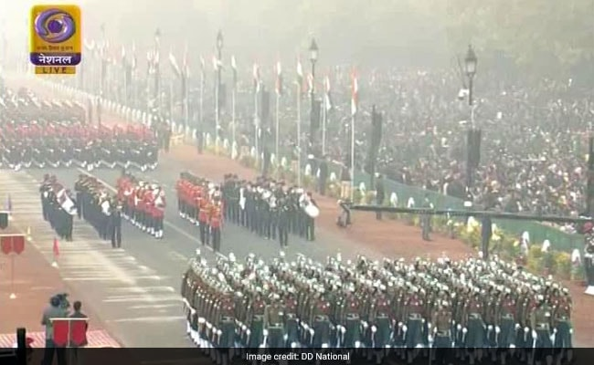 republic day parade ndtv