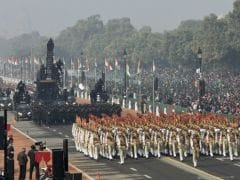"Income Tax Department Themes Republic Day Parade Tableau On ""Clean Money"""