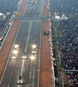 100-Foot Wide Stage, Massive Security For ASEAN Leaders At R-Day Parade