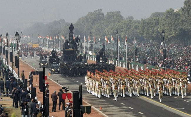Income Tax Department Themes Republic Day Parade Tableau On 'Clean Money'