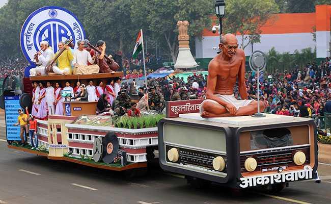 गणतंत्र दिवस का गवाह बनने को राजपथ पूरी तरह से तैयार, तस्वीरों में देखें कितना खूबसूरत है नजारा
