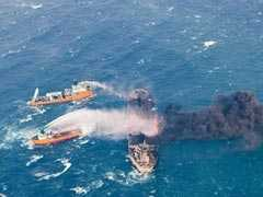 Iran Tanker Which Caught Fire Off China Drifts Into Japan Economic Zone, Says Coast Guard