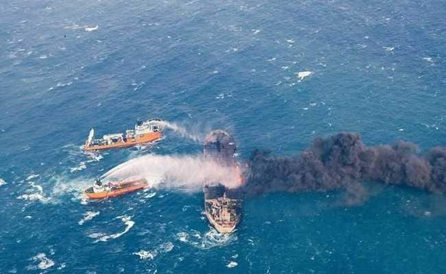 New Explosion on Burning Iran Oil Tanker