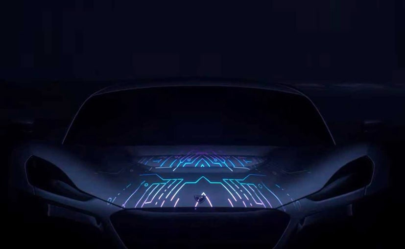 rimac concept two hypercar teased ahead of geneva debut ndtv carandbike. Black Bedroom Furniture Sets. Home Design Ideas