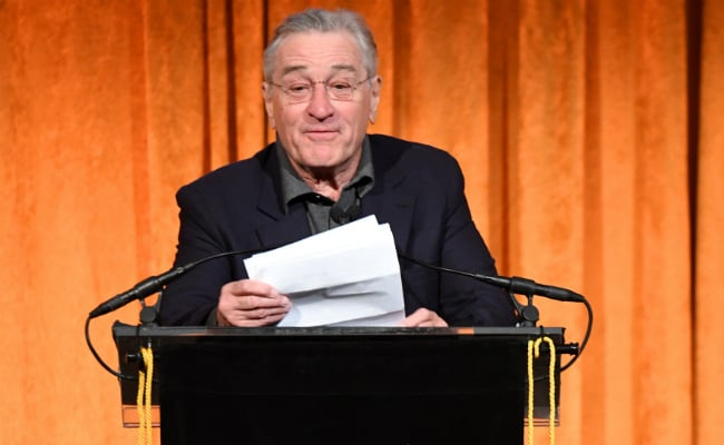 'Baby-In-Chief': Robert De Niro On Trump. And That's The Only Printable Insult