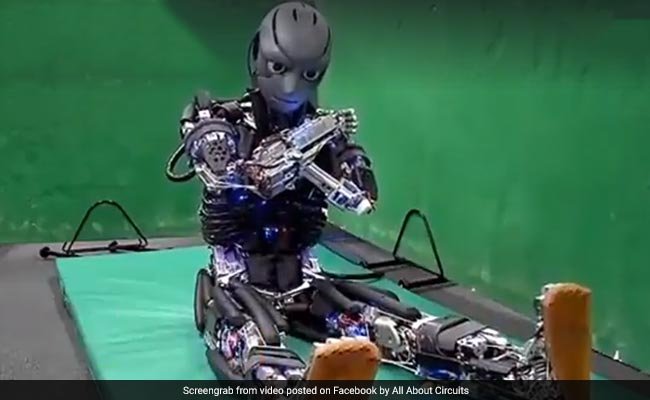 Scientists Develop Robot That Performs Push-Ups, 'Sweats' During Exercise