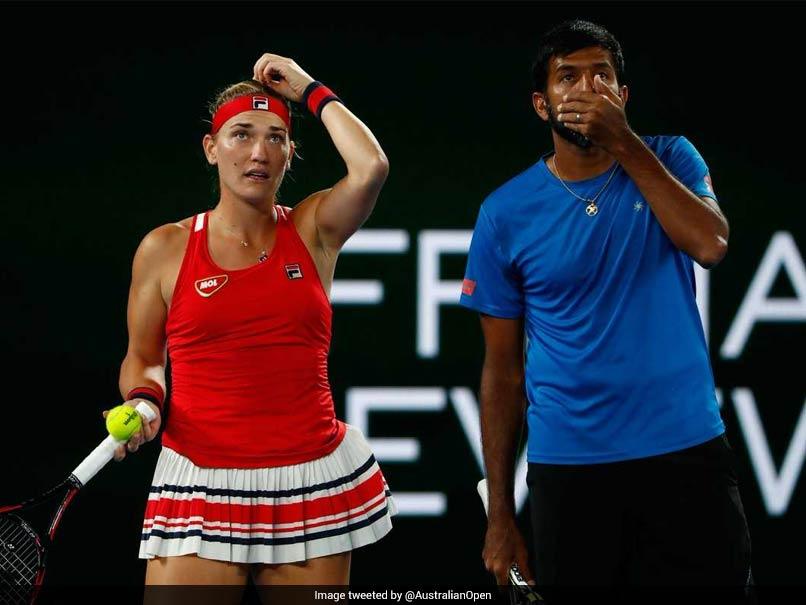 Australian Open 2018: Rohan Bopanna-Timea Babos Pair Ends Runner-Up