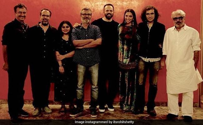 'Padmaavat': Rohit Shetty Has A Message For 'Brave Girl' Deepika Padukone