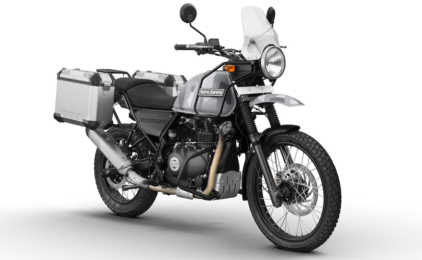 The Royal Enfield Himalayan Sleet Edition comes with camouflage paint job and an explorer kit