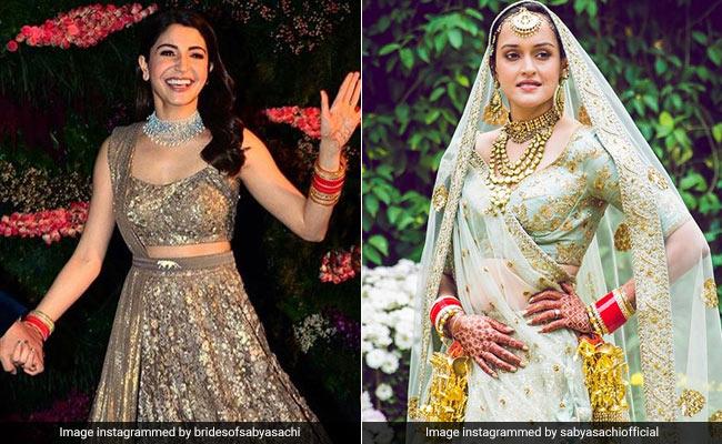 Anushka Sharma To Nafisa Ali's Daughter Pia: Brides Of Sabyasachi, Recapped