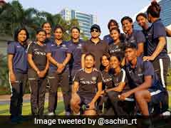 Sachin Tendulkar Meets India Women's Cricket Team Ahead Of South Africa Series