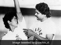 Sachin Tendulkar Extends Birthday Greetings To Kapil Dev