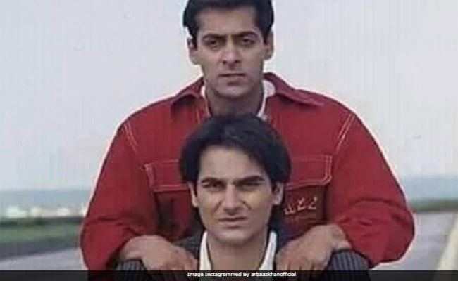 Salman Khan And Brother Arbaaz In A Throwback Pic. Seen Yet?