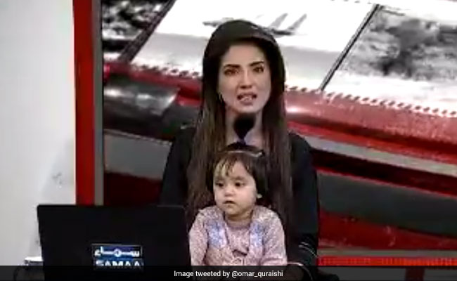 Pak Anchor Goes On-Air With Daughter To Protest Rape, Murder Of 8-Year-Old