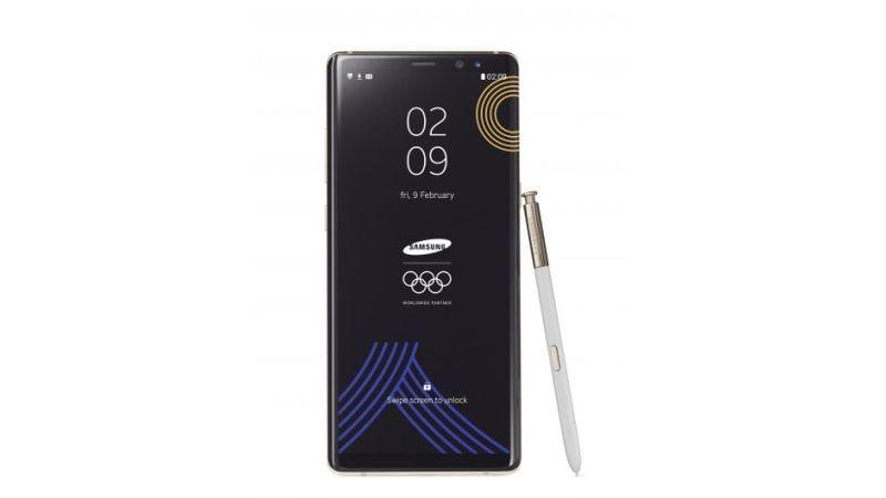 Samsung Galaxy Note 8 का ओलंपिक गेम्स लिमिटेड एडिशन वेरिएंट लॉन्च