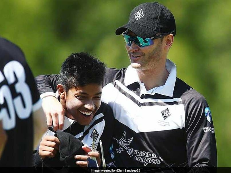 Michael Clarke Helped Me Grow As A Cricketer, Says Sandeep Lamichhane