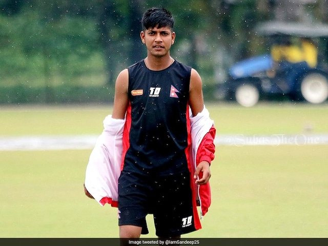 Nepal Spinner Sandeep Lamichhane Added To ICC World XI Squad