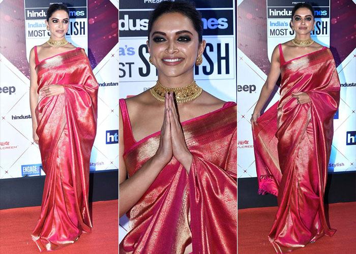'Padmaavati' ने फिर पहने पुराने कपड़े, रेखा ने दी थी दीपिका पादुकोण को ये साड़ी